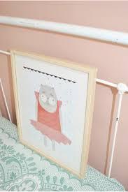 chambre de danseuse affiche danseuse en papier pour chambre de bébé
