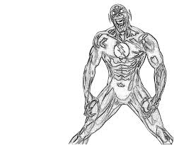 flash zoom coloring pages coloring