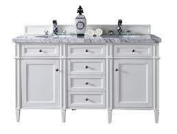 White Cottage Bathroom Vanity by Brittany 60