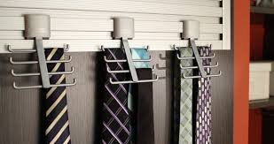 Ideas For Wall Mounted Tie Rack Design Find Your Closet Accessories At California Closets
