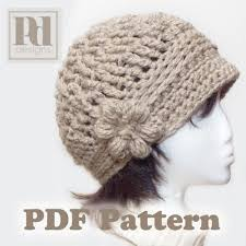 crochet band pdf pattern crochet cloche w flower braided band pddesigns on