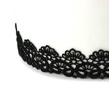 black lace trim black scalloped lace cake trim vintage effect the cake