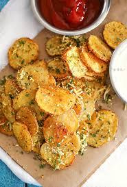 Simple Recipe Ideas For Dinner Parmesan Roasted Potatoes Bon Appétit Pinterest Parmesan