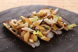 chataigne cuisine recette de couteaux châtaignes amandes et carottes blanches