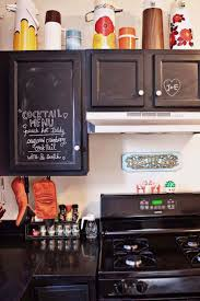 Photos Of Painted Kitchen Cabinets by Best 25 Chalkboard Paint Kitchen Ideas Only On Pinterest