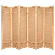 Panel Shoji Screen Room Divider - oriental furniture 6 u0027 tall 6 panel shoji screen 440 cad