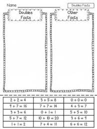 doubles addition facts worksheets here s a set of pages for working on doubles addition facts and