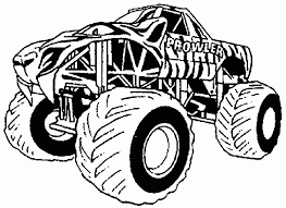 how to draw a monster truck free printable monster truck coloring