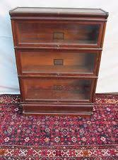 Sectional Bookcase Barrister Bookcase 1900 1950 Ebay