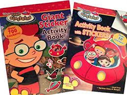 buy einsteins giant sticker activity book coloring