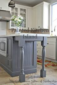 painted islands for kitchens painted kitchen island benjamin moore iron and gray
