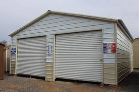 Garage With Carport Pine Creek 24x26 Metal Garage Carport Barn Barns Shed Sheds In