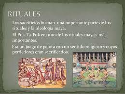 imagenes de rituales mayas cosmogonía maya