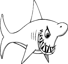shark printable coloring pages coloring