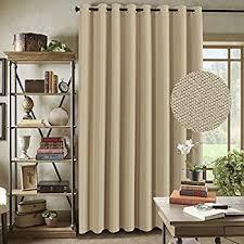 Sliding Door Curtain Amazon Com Sun Zero Easton Blackout Patio Door Curtain Panel 100