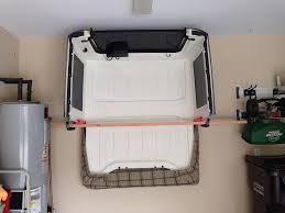 jeep wrangler storage jeep jk hard top storage rack an easy way to store your je u2026 flickr