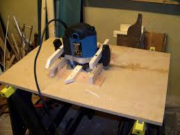Building A Router Table by Ryobi Router Table Smooth Base