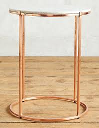 rose gold candy table end table ideas rose gold and marble end table ideas stylish tables
