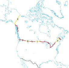 map us canada canada united states border