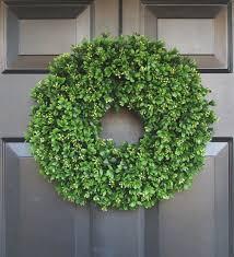door wreaths artificial boxwood wreath 16 inch front door wreaths wedding