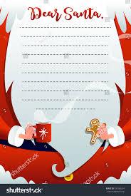 christmas greeting card santa claus merry stock vector 530165254