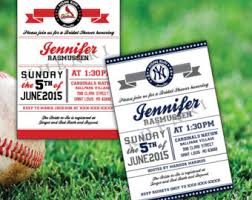 Baseball Wedding Invitations Your Place To Buy And Sell All Things Handmade