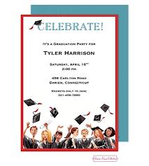 college graduation party invitations badbrya com