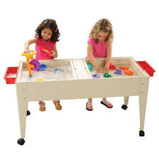 sand and water table with lid double tray sand and water table sand