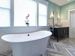 popular bathrooms wood plank tile floor ceramic wood tile