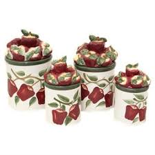 apple kitchen canisters 163 best kitchen canisters images on kitchen canisters