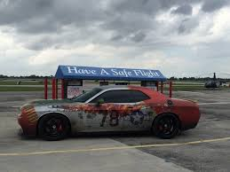 p 51 mustang wrapped challenger hellcat totally unique