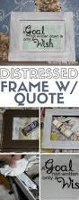 personalized home decor how to make a distressed frame u0026 quote the crafty blog stalker