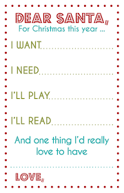 a tweaked version of the 4 gifts list printable want need