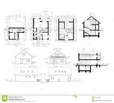 ground plan ground plan of flat building royalty free stock photos image
