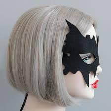 trendy cool devil black mask felt cloth halloween party child