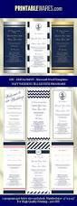 Printable Wedding Programs Free 790 Best Wedding Templates Images On Pinterest Wedding Templates
