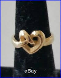 avery heart knot ring avery 14k gold heart knot ring size 5 avery ring