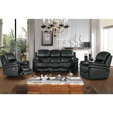 3 Seat Recliner Sofa by Gizelle 3 Seater Reclining Leather Sofa U2013 Next Day Delivery