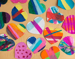 where to buy bleeding tissue paper create vibrant s hearts with tissue paper