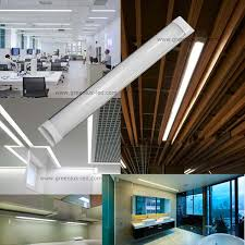 led linear tube lights china factory high lumen100lm w linear surface mount ceiling batten
