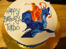 artisan bake shop handpainted dragon phoenix cake