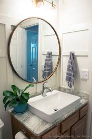 guest bathroom mini makeover