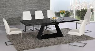 High Gloss Extending Dining Table Top 20 Black Gloss Extending Dining Tables Dining Room Ideas