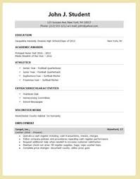 sample music resume for college application high senior resume for college application google search