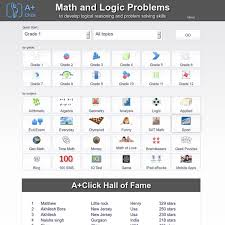 a click math problems and logic puzzles for grade k 1 k 12