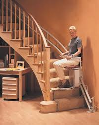 how do curved stair lifts work mountain west stairlifts