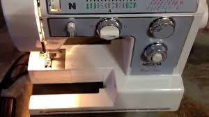 necchi 4795 sewing machine youtube