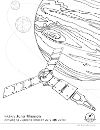 coloring book for space missions juno rosetta cassini