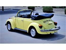 blue volkswagen convertible 1974 volkswagen super beetle convertible for sale classiccars