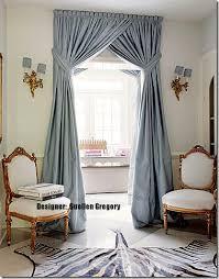 Powder Blue Curtains Decor Porcelain Blue Silk Curtain Dupioni Silk Window Dressing